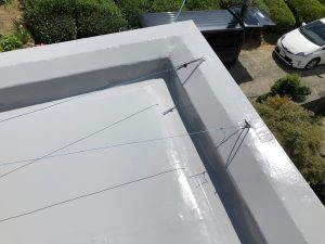 橿原市 屋根防水トップコート4