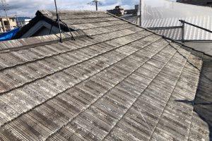 【奈良県大和高田市】屋根塗装|失敗の多いモニエル屋根瓦を水谷ペイントのシリコン塗料で塗り替え