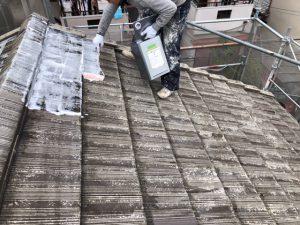 奈良県大和高田市S様屋根塗り替えリフォーム工事