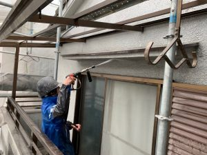 奈良県大和高田市S様の外壁塗装リフォーム工事