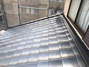橿原市 地震や災害に強い軽量瓦で屋根のリフォーム工事