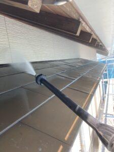 【三重県名張市】外壁塗装|塗装前のいい加減な高圧洗浄ではどんな塗料でも長持ちしない