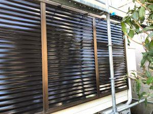 奈良県大和高田市S様雨戸塗装