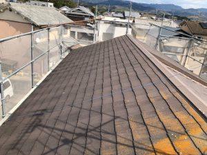 奈良市Y様屋根塗り替えリフォーム工事