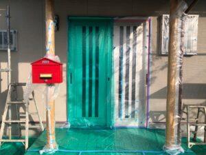 【三重県名張市】外壁塗装|塗り替え前の養生シートの張り方で職人の質が分かる?