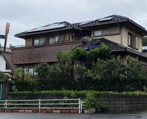 奈良県宇陀市N様 外壁塗装前
