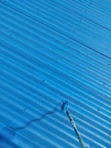 三重県伊賀市M様倉庫の屋根塗り替えリフォーム工事