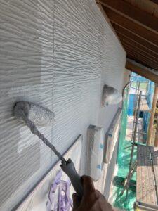【三重県名張市】外壁塗装|夏は涼しい遮熱、冬は暖かい断熱効果のガイナで塗り替えリフォーム