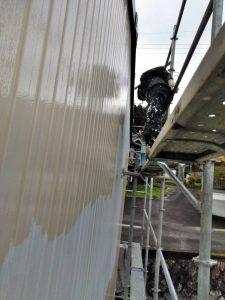 三重県伊賀市M様倉庫の外壁塗装リフォーム工事