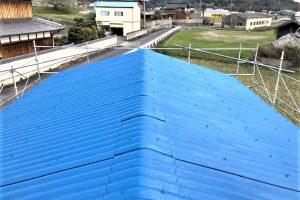伊賀市 安くて長持ちするシリコン塗料で屋根塗り替え