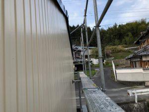 三重県伊賀市M様 倉庫の外壁塗装リフォーム