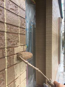奈良市 16年の耐久性のシリコン塗料で外壁塗り替え