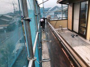 奈良県宇陀市N様の高圧洗浄2