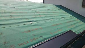 【奈良県高取町】屋根リフォーム|スレート屋根に25年保証のガルバリム鋼板を重ねる屋根カバー工法