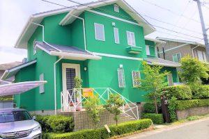 奈良県宇陀市 テレビで注目の20年持つガイナを外壁塗装