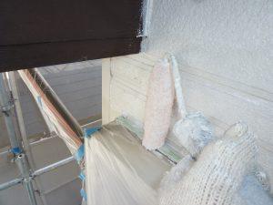 奈良県橿原市 サイディング壁にシリコン樹脂塗料を塗装3