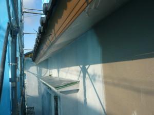 【屋根工事・雨樋交換・外壁塗装】三重県名張市S様邸  外壁塗り替え工事の続きです。