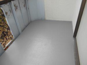 奈良県橿原市N様 雨漏り修理 ベランダFRP防水