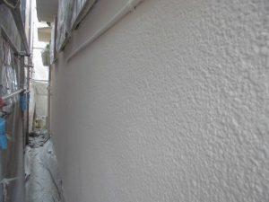 奈良県橿原市 外壁にガイナ塗装2
