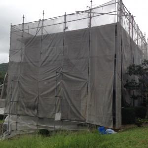 【外壁塗装・外壁修理】奈良県宇陀市M様邸 外壁塗り替え工事の詳細です。